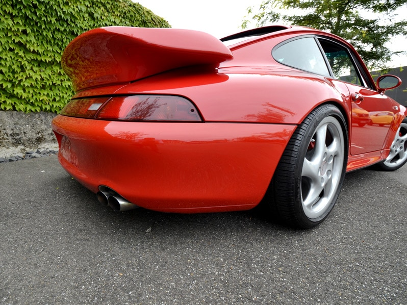 Porsche 993 biturbo Coupé
