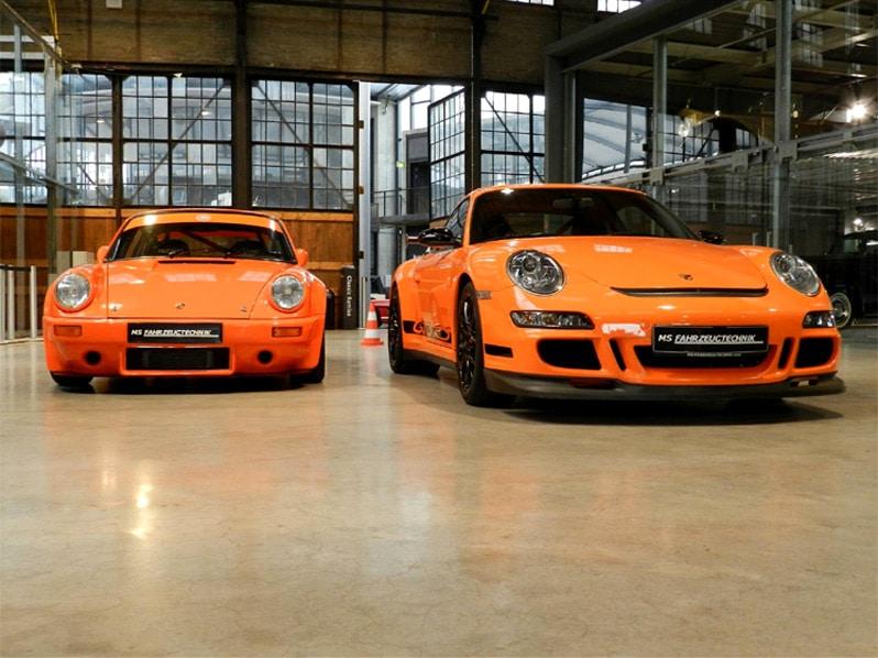 Porsche 911 Carrera & GT3 RS