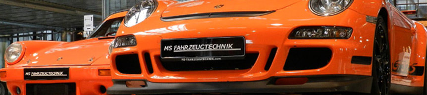 MS Fahrzeugtechnik - Classic Cars | Porsche 911 SC 3.0 & 997 GT3 RS