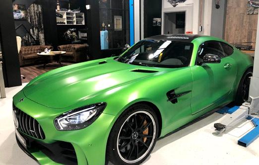 MS Fahrzeugtechnik Castrop-Rauxel - Mercedes-Benz AMG GTR 2018