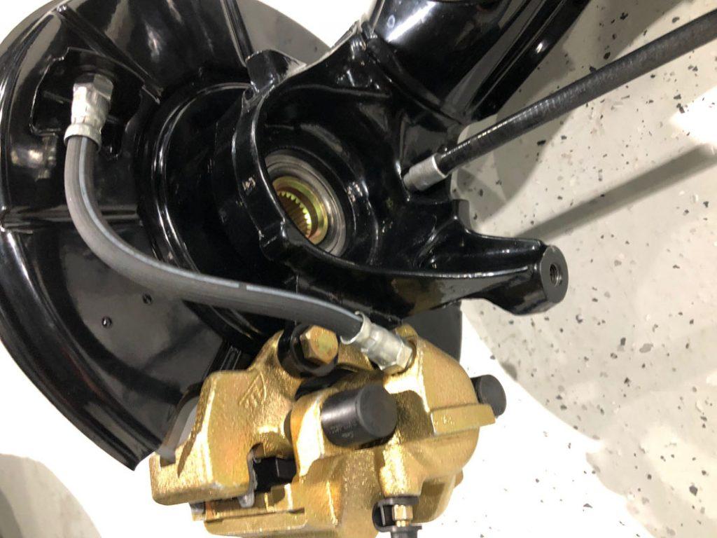 BMW M3 (E30) - Aufbau der Bremsen