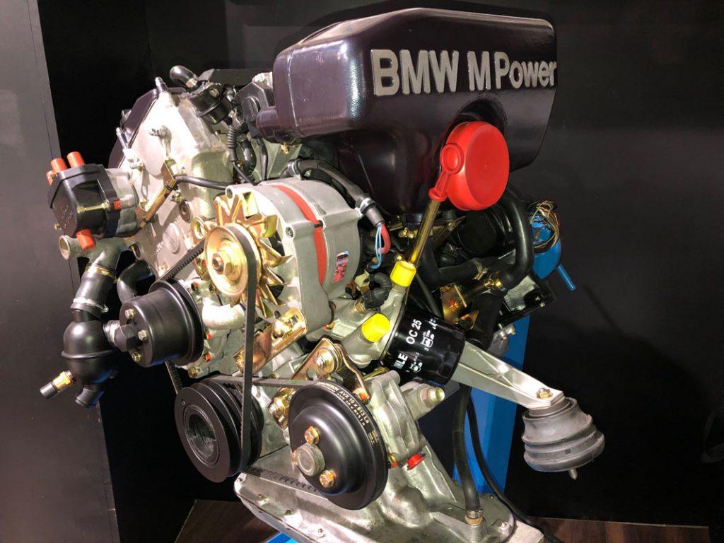 BMW M3 (E30) - Der Motor