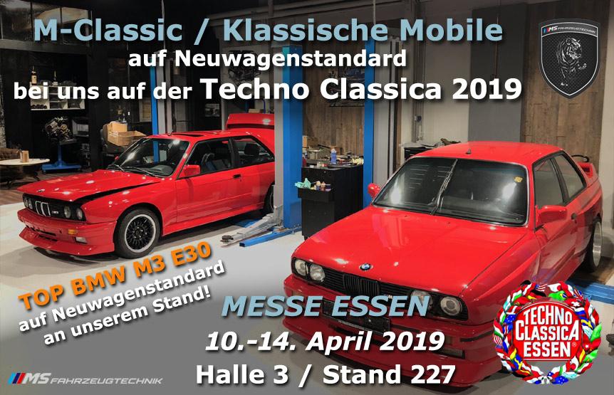 MS Fahrzeugtechnik Castrop-Rauxel - Techno Classica Essen 2019
